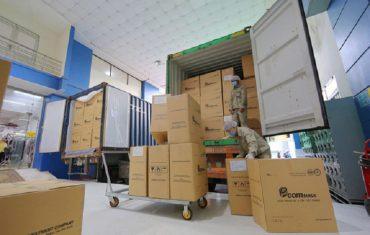 Khẩu trang EcomMed xuất khẩu sang các nước Mỹ và Châu Âu