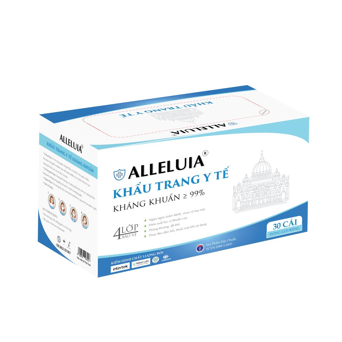 Khẩu trang y tế Alleluia
